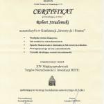 Certyfikat konferencji Inwestycje i Fianse