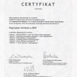 Certyfikat negocjacje handlowe 2